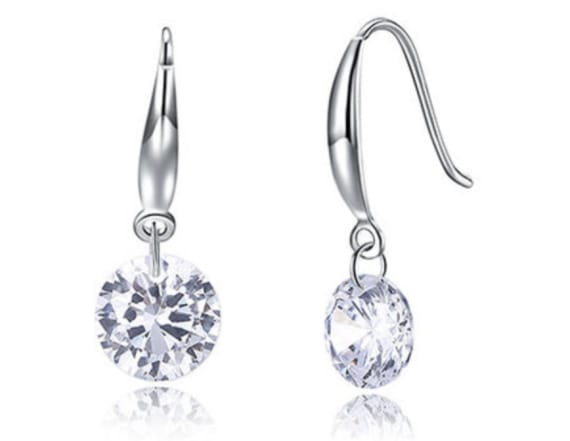 These Swarovski crystal earrings are 90 percent off