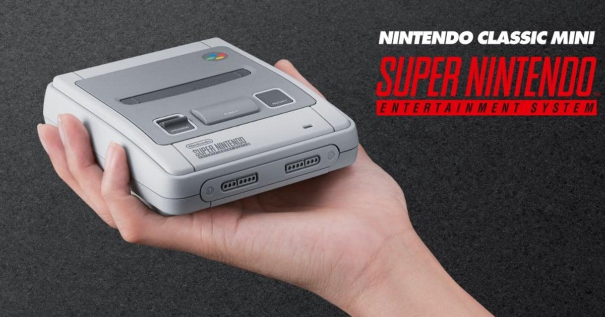 La Super Nintendo Classic, nouvelle console rétro dévoilée par Nintendo