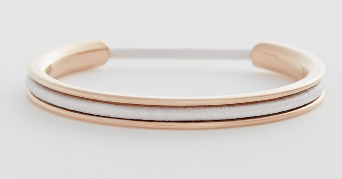 This Bangle Is Actually A Secret Hiding Place For Your Hair Elastic ... 9d2e93aa891