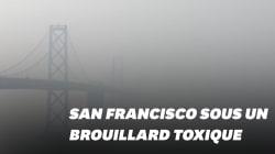 San Francisco est recouverte d'un brouillard d'air