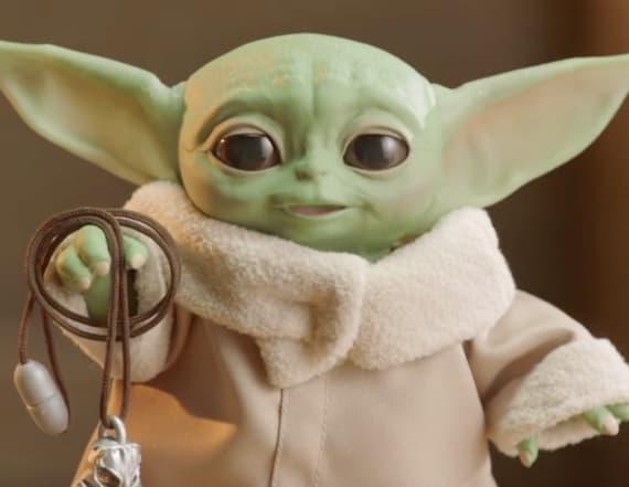 Animatronic Baby Yoda is taking over the internet