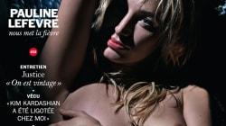 Pauline Lefèvre seins nus en couverture de