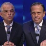 Debate SBT: Márcio França e João Doria voltam a se enfrentar nesta terça, dia