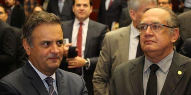 Presidente do Supremo Tribunal Federal (STF), Cármen Lúcia, negou um pedido para contra senador Aécio Neves (PSDB-MG) fosse relatado pelo ministro Gilmar Mendes.