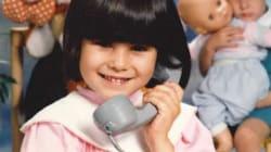Reconnaissez-vous cette fillette au téléphone devenue animatrice télé