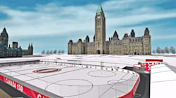 Parliament Hill's $5.6-Million Ice Rink Is Actually Going To Cost More