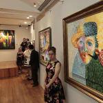 Artistas con Síndrome de Down exhiben obras en Bellas