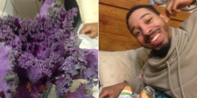 """""""Meu namorado me trouxe isso pensando que era flores, mas era alface""""."""