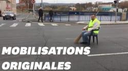 Certains gilets jaunes ont bloqué les routes avec