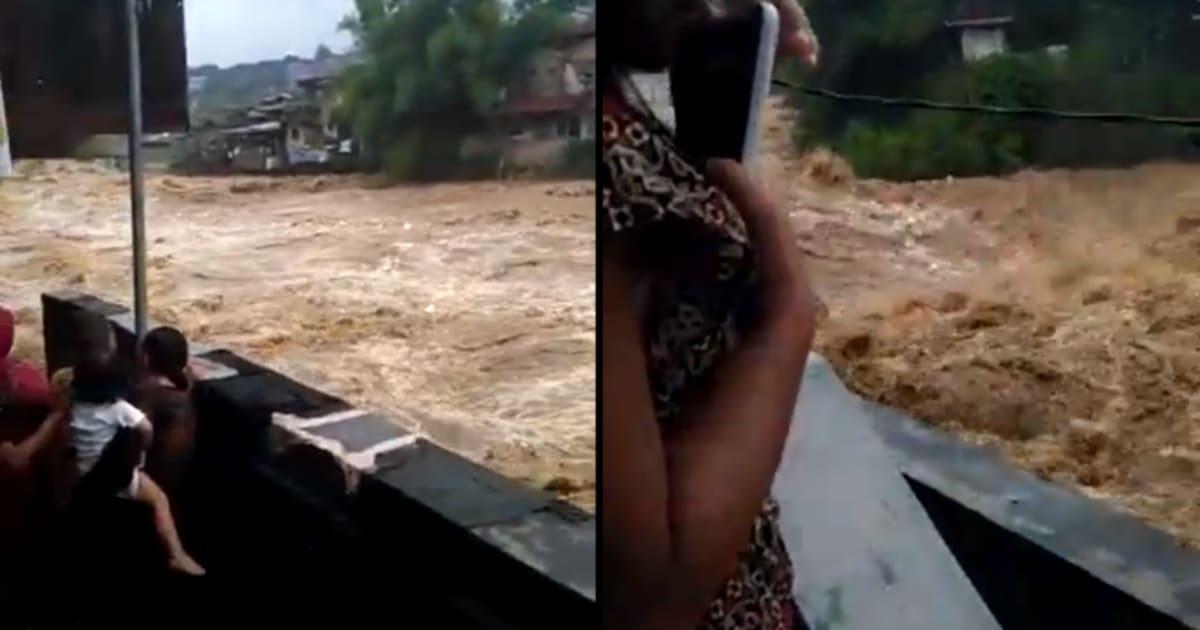 Pendant que Paris et sa région se remettent de la crue de la Seine, l'Indonésie voit des torrents sous ses fenêtres