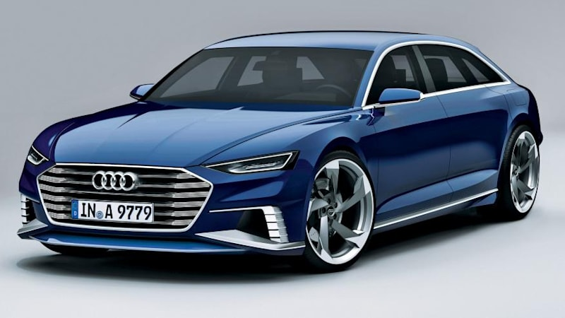 Audi Prologue Avant puts new styling focus on wagons