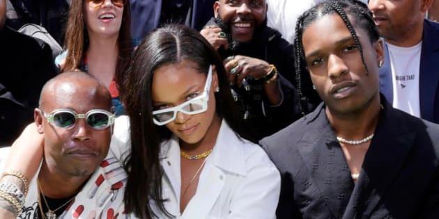 Rihanna, Kim Kardashian, Kanye West... le parterre de star impressionnant pour le 1er défilé de Virgil Abloh pour Vuitton