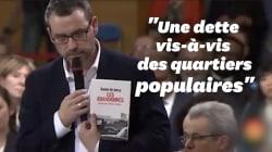 À Évry, le cadeau éloquent d'un maire de banlieue à Macron lors du grand