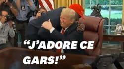 L'embrassade de Donald Trump et Kanye West à la Maison