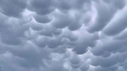 De drôles de nuages aperçus dans le ciel de