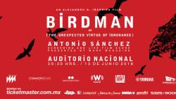 'Birdman' en el Auditorio Nacional y con música en