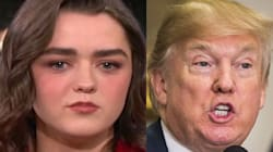 Maisie Williams Zings Donald Trump While Teasing 'Game Of Thrones'