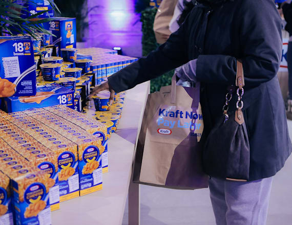 Kraft is opening a pop-up grocery store in D.C.