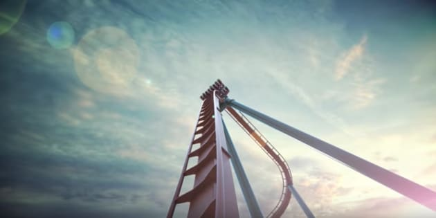 """Canada's Wonderland says its """"Yukon Striker"""" ride will be the first dive coaster in the country."""