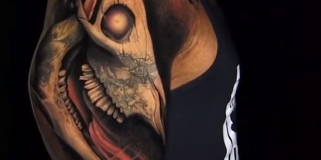 Dwayne 'The Rock' Johnson's Epic Bull Skull Tattoo Is