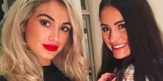 Sydney model Isobella Fraser, 22, was in London visiting her sister Prue, 20, when they were caught up in the acid attack.