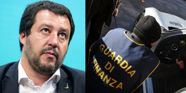 Equitalia, Matteo Salvini: