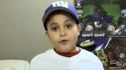 À 8 ans, il collecte plus d'un millier de jouets pour les enfants de
