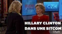 Dans cette série mythique, Hillary Clinton postule pour un rôle de