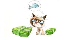 Grumpy Cat obtient 710.000 dollars au