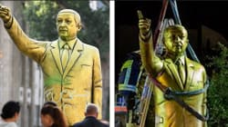 Une statue d'Erdogan érigée en Allemagne ne survit pas deux