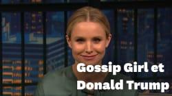 Kristen Bell lit des tweets de Donald Trump avec la voix de Gossip