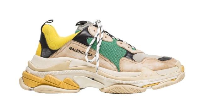 Ces nouvelles Balenciaga ressemblent à des baskets des années 90 (mais  coûtent 10 fois plus