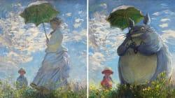 Un artista recrea cuadros famosos con personajes de dibujos