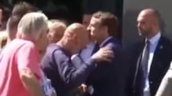 Ce geste d'Emmanuel Macron va vous rappeler de grands souvenirs de