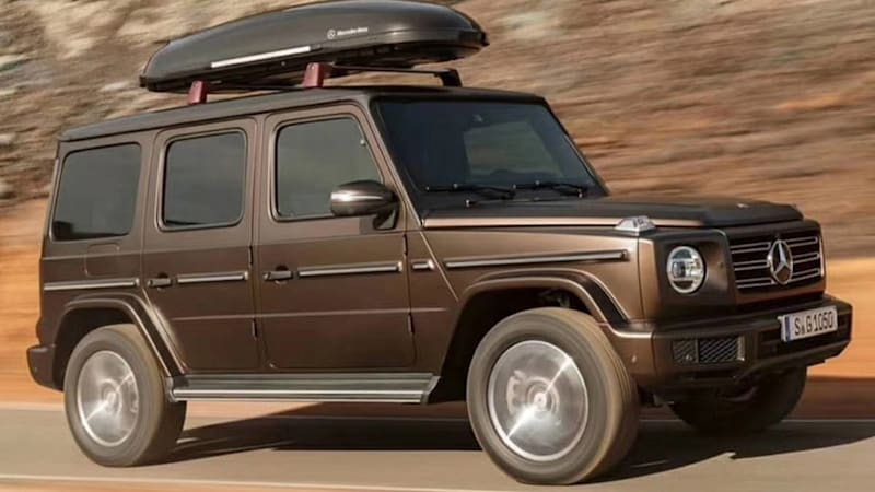 2019 Mercedes-Benz G-Class revealed in leaked photos - DFW