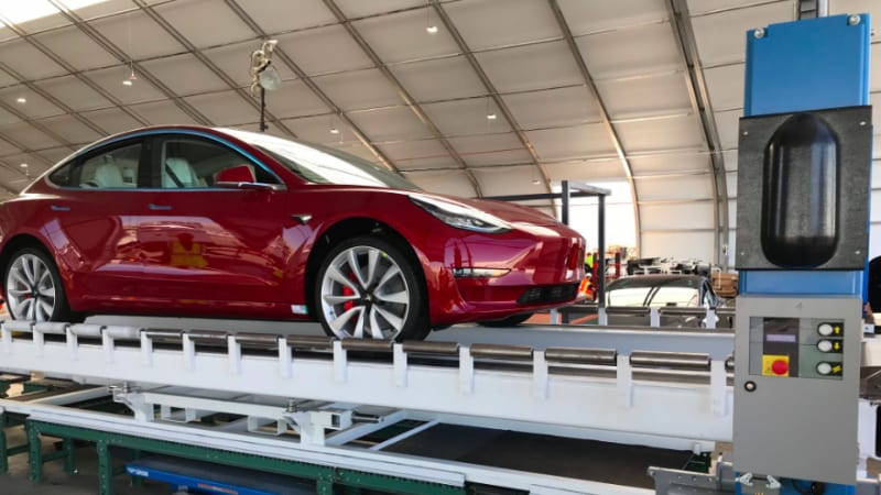 Patiently In Line For A Brand New Dual Motor Tesla Model 3 We Have Good News Elon Musk Just Tweeted Picture Of The Very First Performance Version