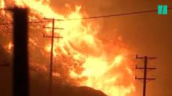 Les incendies en Californie désormais attisés par des vents de la force d'un