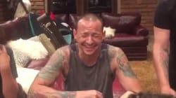 La moglie del cantante dei Linkin Park ha postato un video del marito girato poche ore prima del