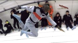 On a filmé le sprint d'Usain Bolt en gravité