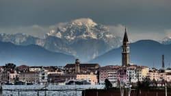 Meglio delle foto di Venezia ci sono solo le foto di Venezia con le montagne innevate sullo