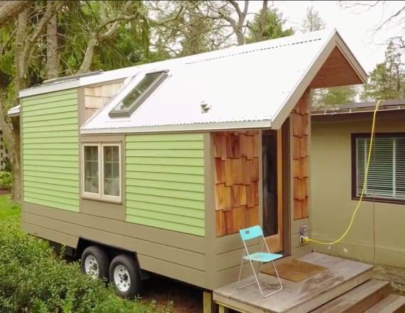 Why one man moved into a tiny home as an experiment