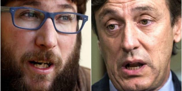 Miguel Urban (Podemos) y Rafael Hernando (PP).