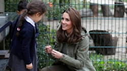 The Duchess of Cambridge Tells Girl That Cameras Are On Her Because She's