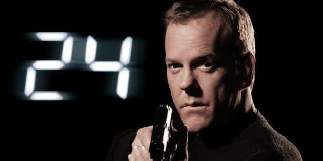 """Jack Bauer est le héro mythique de la série """"24h chrono""""."""