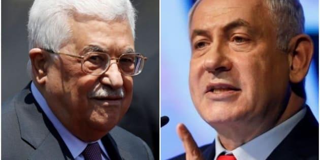 Mahmud Abbas y Benjamin Netanyahu, en sendas imágenes de archivo.