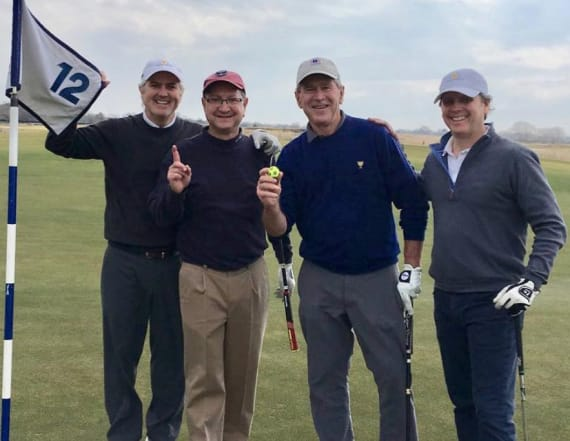 George W. Bush accomplishes major golf feat at 72