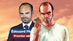Les fans de GTA 5 ont immédiatement comparé Édouard Philippe au psychopathe Trevor
