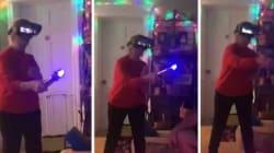 Un casque de réalité virtuelle a transformé cette grand-mère en