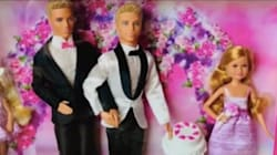 Grooms-To-Be Hope To Convince Mattel To Create A Barbie Same-Sex Wedding