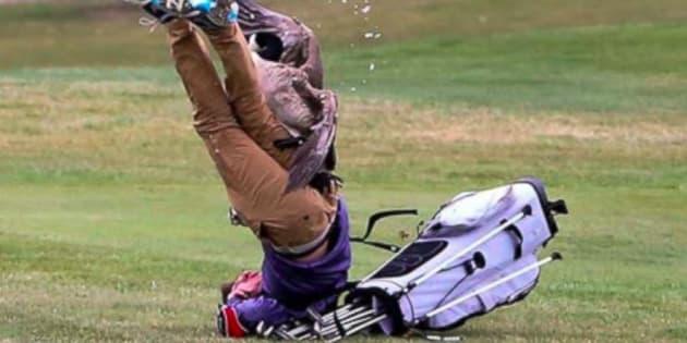 Un jeune golfeur s'est fait attaquer par une oie dans le Michigan, aux États-Unis.